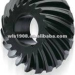 PLASTIC BLACK OIL SPIRAL  GEAR