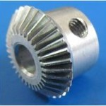 stright  steel bevel gear